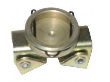 Bottom of Clip On V Pad for MagSpring Utility Clamp