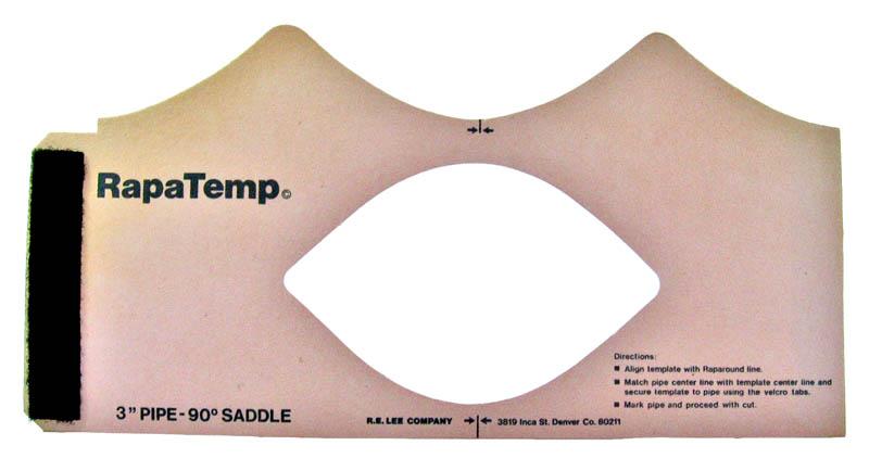 saddle rapatemp 3 inch 90 degree branch rapatemp