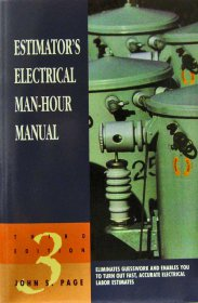 Estimator's Electrical Manhour Manual