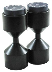 Two Hole Pins Magnetic Large