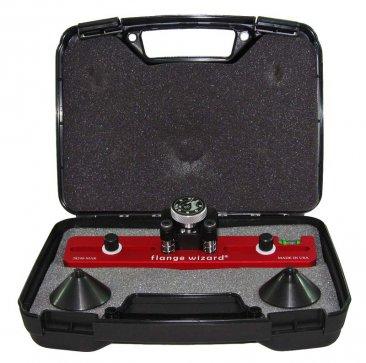 Magnetic Flange Aligner Kit in case