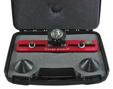 Magnetic Flange Aligner Kit in case closeup