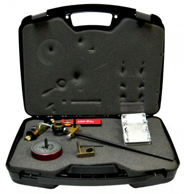 Flange Wizard Burning Guides Kit items in the case
