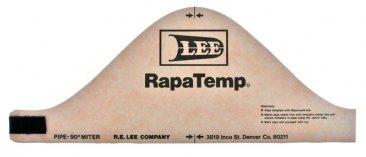 8 Inch Two Piece 90 Degree Saddle Rapatemp
