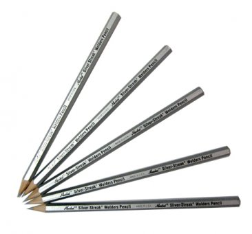 Group of Silver Welder Pencils