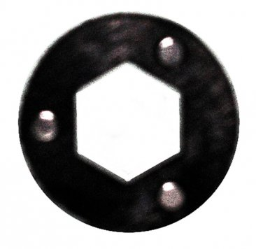 Hex Magnet from Magnetic Nut and Bolt Holders